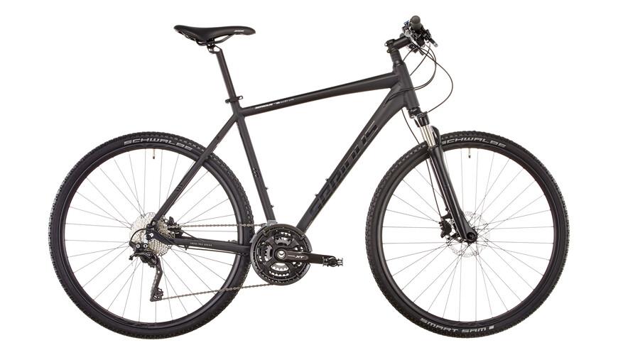 Serious Athabasca Bicicletta ibrida Uomini nero